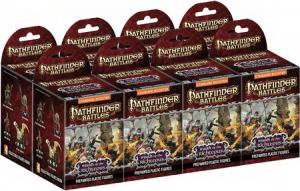 Wizkids Pathfinder Battles - Wrath of the Righteous Standard Booster Brick (8 Boosters)