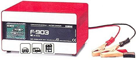 FERVE - Cargador Bateria 17-45 Ah Ferve 12 V