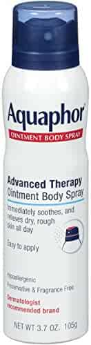 Aquaphor Ointment Body Spray - Moisturizes to Help Heal Dry, Rough Skin - 3.7 oz. Spray Can