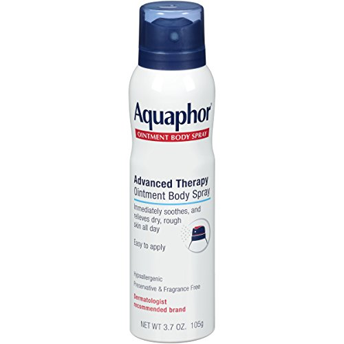 Aquaphor Ointment Body Spray - Moisturizes to Help Heal Dry, Rough Skin - 3.7 oz. Spray Can (Best Body Lotion For Dry Skin In Summer With Spf)