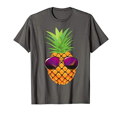 (Pineapple Sunglasses Shirt | Funny I Love Pineapple Tee Gift)