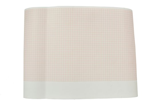 9100-029-50 Mortara Roll ECG paper for ELI 230 (210MMX30M) (5 rolls/box) by Quality Chart Paper (Image #1)