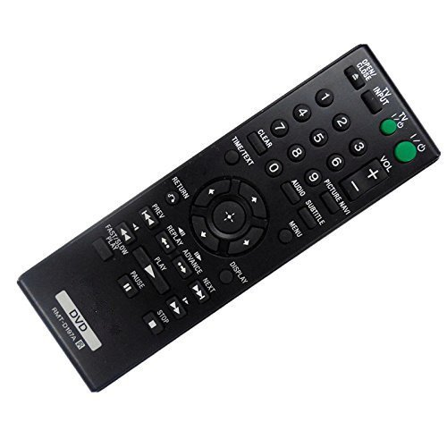 Neohomesales New OEM Sony RMT-D197A 148943011 Remote Control for SONY DVPSR201P DVPSR210P DVPSR405P DVP-SR500H DVP-SR500WM DVPSR510H CD DVD - Day Usps Price Next