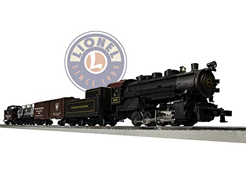 (Lionel Pennsylvania Flyer Electric O Gauge Model Train Set w/ Remote and Bluetooth Capability)