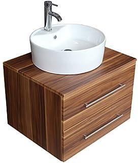 Waschbecken rund mit unterschrank  Badmöbel / Badezimmermöbel / Badmöbel klassisch / Badmöbel set ...