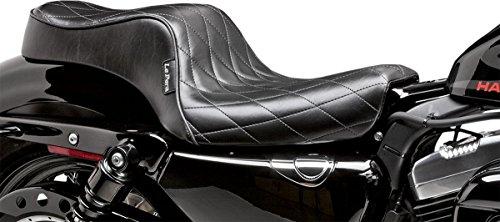 10-18 HARLEY XL883N: Le Pera Cherokee Seat (BLACK)