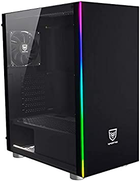 Nfortec Torre Gaming RGB caronte con Panel Lateral Full View de ...