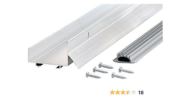 M D Building Products 6155 M D 0 U Shape Door Bottom With Drip Cap 36 In L X 2 4 In W Aluminum Door Thresholds