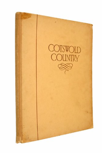 COTSWOLD COUNTRY; A BOOK OF PHOTOGRAPHS