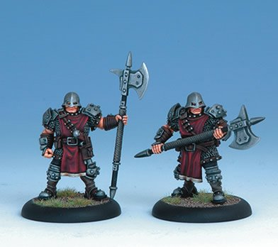 Iron Kingdoms Miniatures: Cygnar City Guard