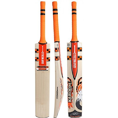 Gray Nicolls Kaboom Warner Gn2.5 English Willow Cricket Bat by Gray Nicolls