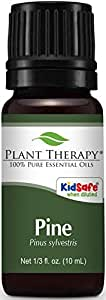 Plant Therapy Pine Essential Oil. 100% Pure, Undiluted, Therapeutic Grade. 10 ml (1/3 oz).