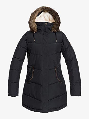 Roxy Women's Ellie – Waterproof Longline Puffer Jacket for Women Waterproof Longline Puffer Jacket