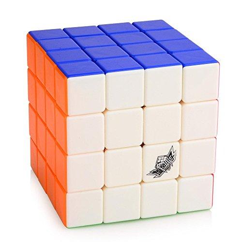 Cyclone Boys 4x4x4 Magic Cube Speed Puzzle Cube Stickerless
