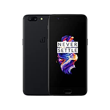 OnePlus 5 A5000 8GB RAM, 128GB, 5.5 Unlocked Phone (Black)