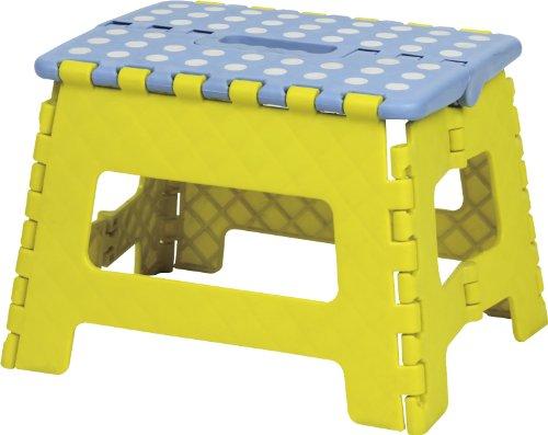 (Azumaya Japan AZUMAYA Folding Step Stool Yellow Size Small BLC-311YE by)