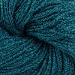 Valley Yarns Charlemont Fingering Weight Sock Yarn, Superwash Merino Wool/Silk/Polyamide - Teal Blue ()