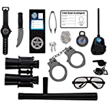 Police Role Play Kit; (14 Pc Set)