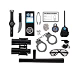 cool costume for kids - Police Role Play Kit; (14 Pc Set)