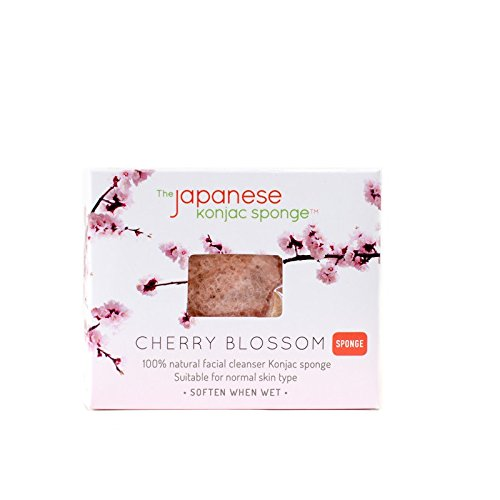 The Japanese Konjac Makeup Sponge, Cherry Blossom
