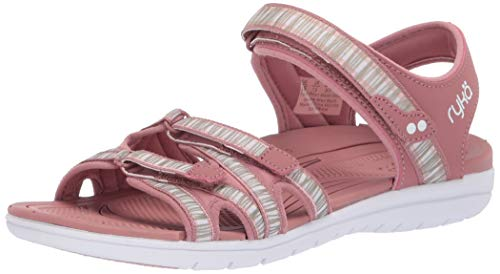 Ryka Women's Savannah Sandal, Tea Rose, 11 M US