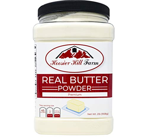 Hoosier Hill Farm Real Butter powder, Hormone.free, 2 lbs (Best Melting Cheese For Grilled Cheese)