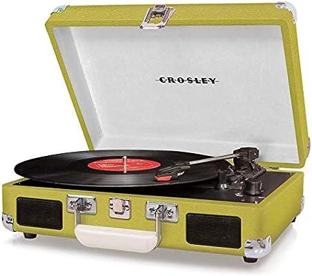 Tocadiscos Cruiser (Green) Deluxe: Amazon.es: Electrónica