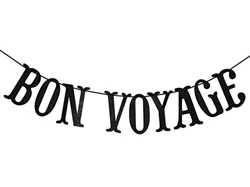 Bon Voyage Banner - Bon Voyage Party Banner for Adventure