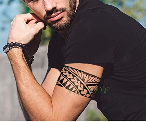 Waterproof - Tatuaje temporal, tatuaje tribal, falso, tatuaje, flash ...