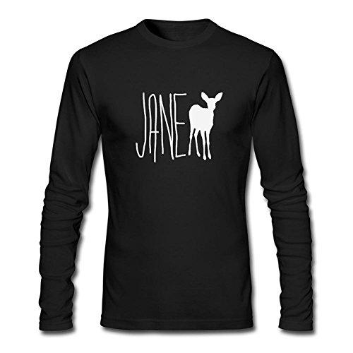 CHENGXINGDA Men's Life Is Strange Jane Doe Max Logo Long Sleeve T-shirt M Tech Logo Square