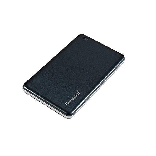 Intenso 3822450 Tragbare Externe SSD Festplatte (4,57 cm (1.8 Zoll) 512GB, USB 3.0) anthrazit