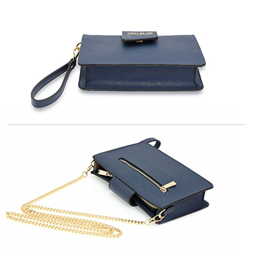 593 Wedding Clutch LeahWard Bag Navy Party Women's XOfnqwa