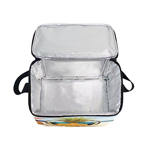 nbsp;Summer Ananas Lunch Femme Sac fourre Pique Box Amour Beach Use7 Nique pour Cooler d'école à Tout Isotherme Enfants déjeuner Sac Homme BExqdcnc