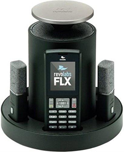 Revolabs 10-FLX2-200-DUALPOTS 5.8_Ghz_Radio_Frequency 1-Handset Landline Telephone (Landline Smartphone Bridge)