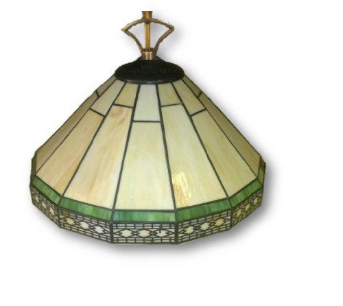 Catalina Chandelier Mission Style Pendant Light - Tiffany Shade (Tiffany Pendant Shade)