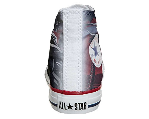 Converse All Star Customized - zapatos personalizados (Producto Artesano) Demon