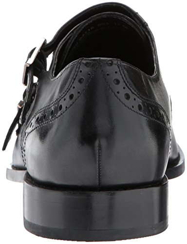 Nunn Bush Mens Norway Double Monk Slip-on Loafer Black i1lsu
