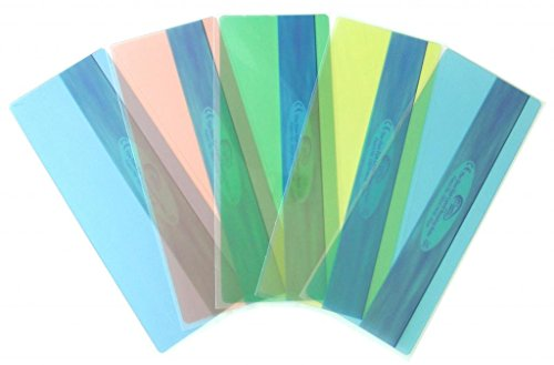 Reading Rulers Duo Window - pk of 5 - 5 Most Popular Colors (Highlighted Bookmarks)