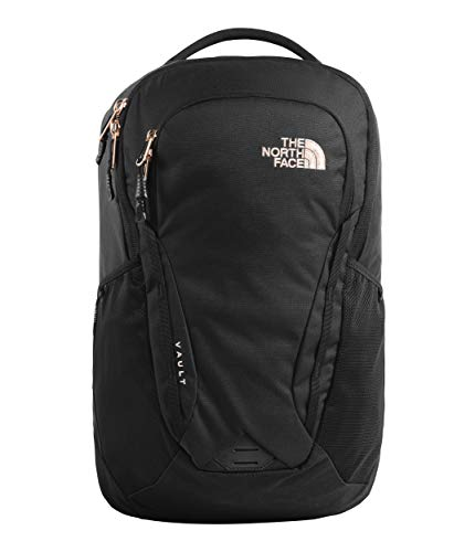 - The North Face Women's Vault, TNF Black Heather/Burnt Coral Metallic, OS