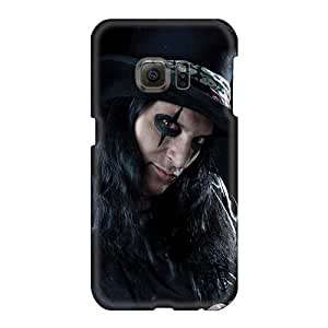 Shock Absorbent Hard Cell-phone Case For Samsung Galaxy S6 (bIV12897OBQG) Support Personal Customs Lifelike Alice Cooper Band Pattern