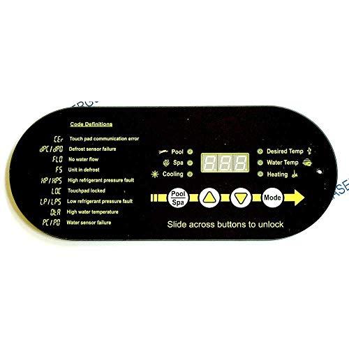 Aqua Cal STA0062 Display Control Panel -