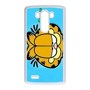 Xrpf GARFIELD LG G3 Cell Phone Case White