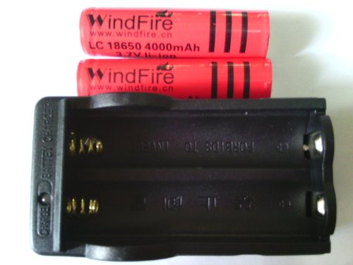WindFire 4000mAh Rechargeable Battery travelling product image
