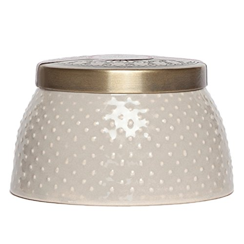 Aspen Bay 4 oz Bamboo Lotus Speckled Trinket Box Candle