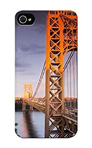 Fireingrass LpGPSc-355-bNsrv Case For Iphone 5/5s With Nice George Washington Bridge Appearance