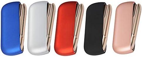 電子タバコ 収納 アクセサリー IQOS 3.0 用 保護ケース オルタナティブ 選べるカラー 5色 (③ レッド)
