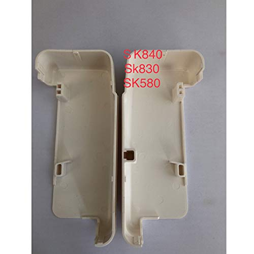 ShineBear 1pair Plastic Machine Side case Spare Part for Silver Reed Knitting Machine SK830 SK840 SK580