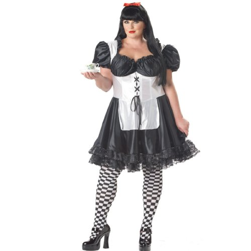 Plus Size Malice In Wonderland Costume -