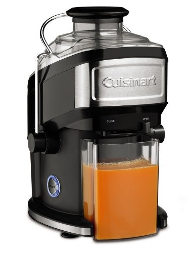 Cuisinart CJE500E - Licuadora de zumo, color negro y gris
