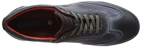 Bugatti 311137023000 - Zapatillas Hombre Negro - Schwarz (schwarz 1000)
